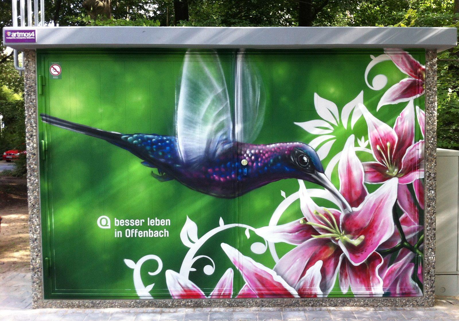 graffitikuenstler-graffitiauftrag-artmos4-energieversorger-offenbach-tier-pflanzen-bunt