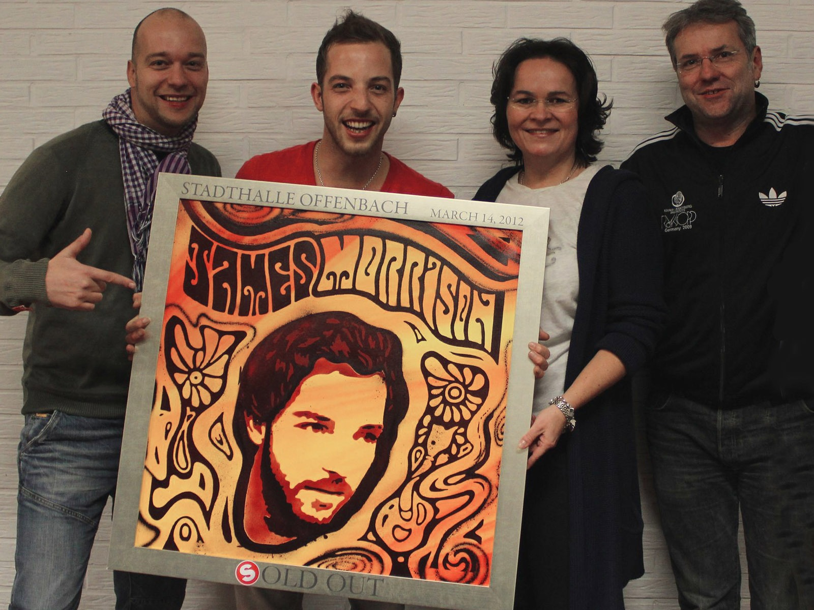 graffitiauftrag_artmos4_sold_out_award_james_morrison_Stadthalle_Offenbach_Leinwand_Graffiti