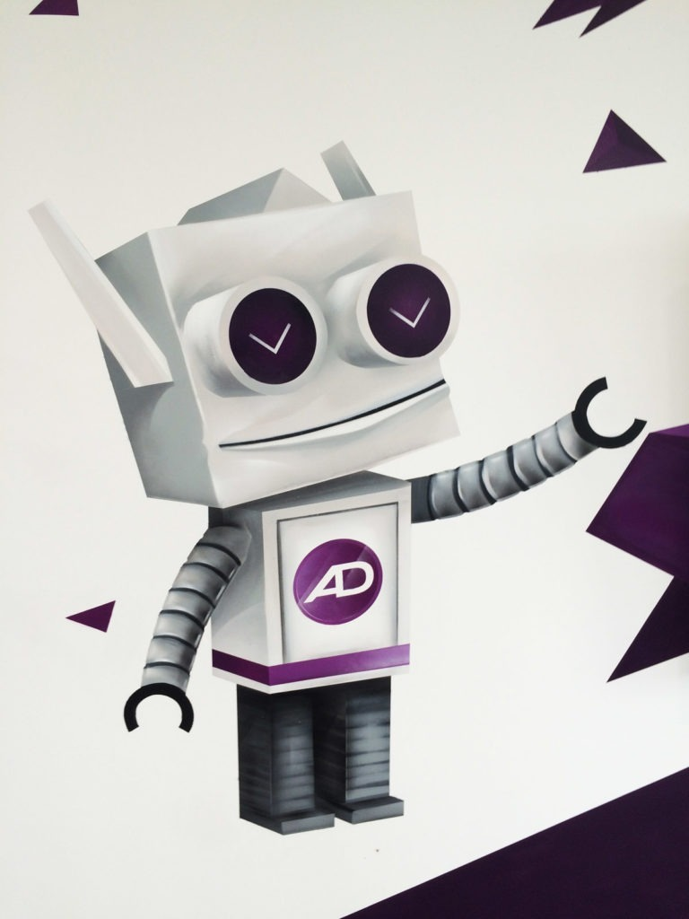 Graffitikuenstler, Graffitiauftrag, Artmos4, Admitad, Grafisch, illustrativ