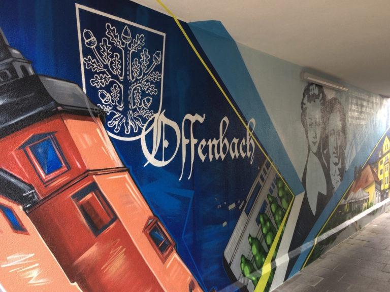 Graffitikuenstler, Graffitiauftrag, Artmos4, Offenbach, Logo, Fotorealistisch