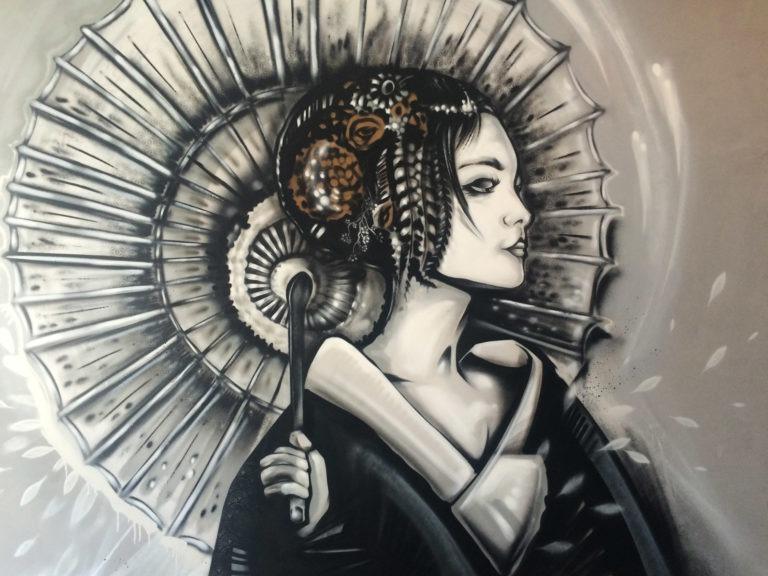 Graffitikuenstler, Graffitiauftrag, Artmos4, CocoChina, illustrativ, Mensch