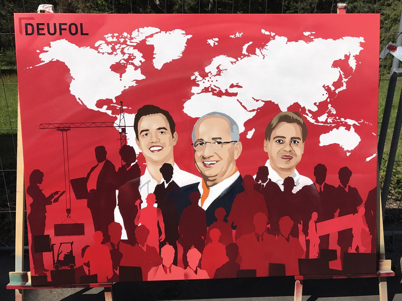 graffitiauftrag-graffitikuenstler-artmos4-deufol-leinwand-rot-menschen-silhouetten-maschine-karte-planet-illustrativ