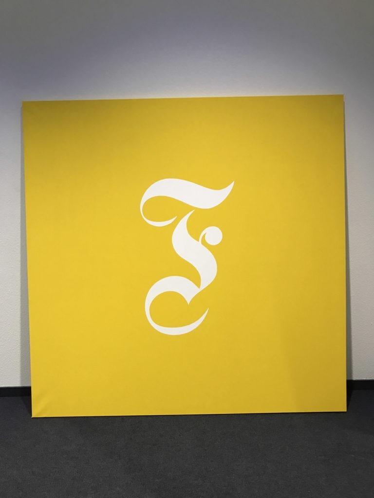 Graffitikuenstler, Graffitiauftrag, Artmos4, FAZ, Logo, Typographisch