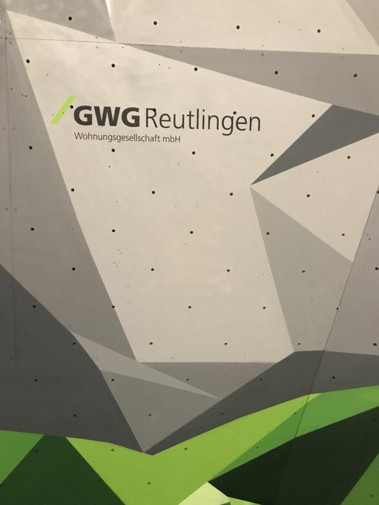 Graffitikuenstler, Graffitiauftrag, Artmos4, GWGReutlingen, Logo, Grafisch