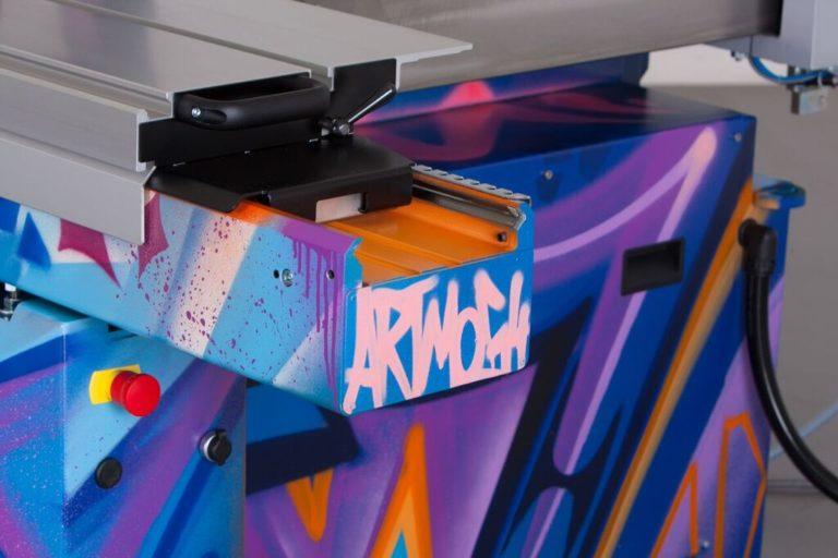 Graffitikuenstler, Graffitiauftrag, Artmos4, OttoMartinGmbH, Maschine, Objekt, Tags, Graffiti, Bunt