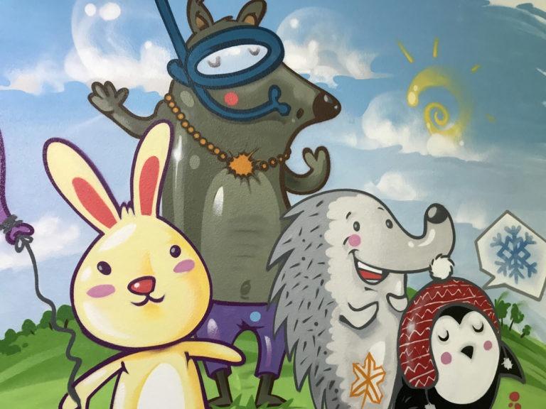 Graffitikuenstler, Graffitiauftrag, Artmos4, Sat1, Tiere, Comic