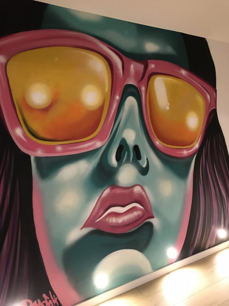 Graffitikuenstler, Graffitiauftrag, Artmos4, Person, PopArt, Koeln