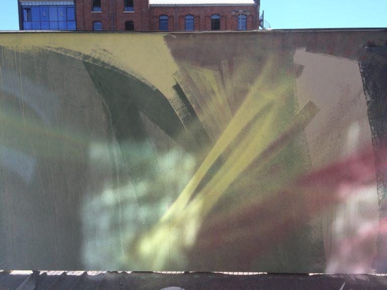 Graffitikuenstler, Graffitiauftrag, Artmos4, Porsche, Leipzig, Graffiti,