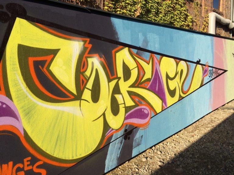 Graffitikuenstler, Graffitiauftrag, Artmos4, Porsche, Graffiti, Style